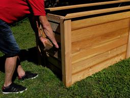 hochbeet bausatz aus holz und wpc kaufen und bauen im. Black Bedroom Furniture Sets. Home Design Ideas