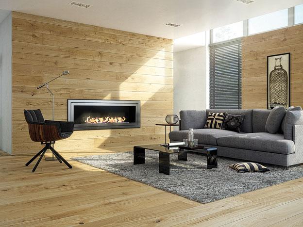 dekorative wandverkleidung aus parkett unsere anleitung. Black Bedroom Furniture Sets. Home Design Ideas